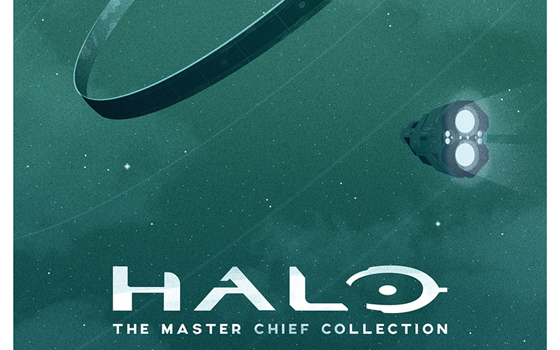 Artwork for HALO by Ollie Hoff
