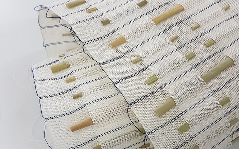 Textiles piece by Elizabeth Kimbley