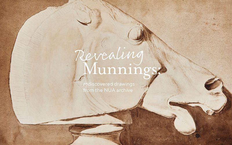 Bust of a horses head by Sir Alfred Munnings