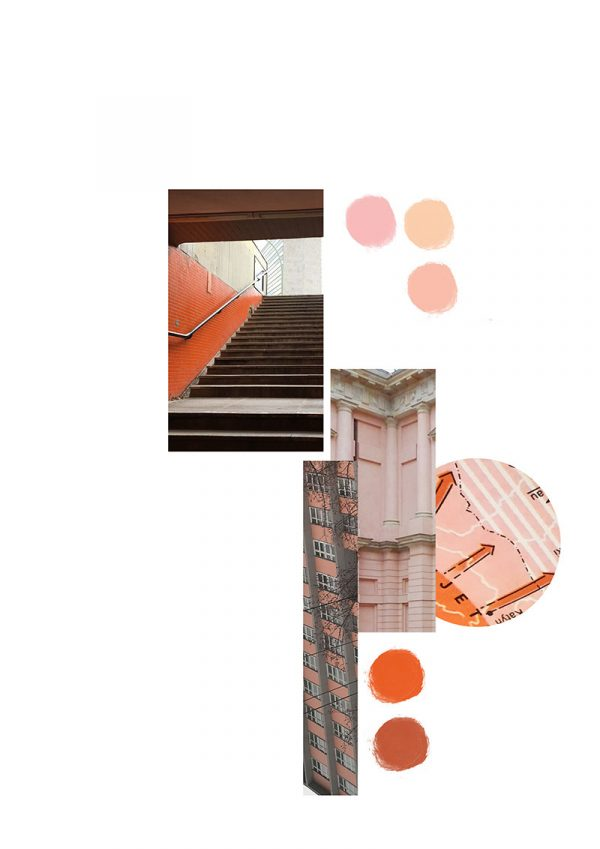 Victoria Paulley - Image of bauhaus inspired work by MA Textile Design student Victoria Paulley for her MA Degree Show