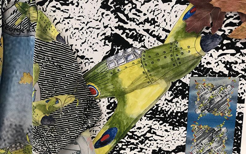 Nell Rose - Textile Design - Helen Hoyte Award Third Prize