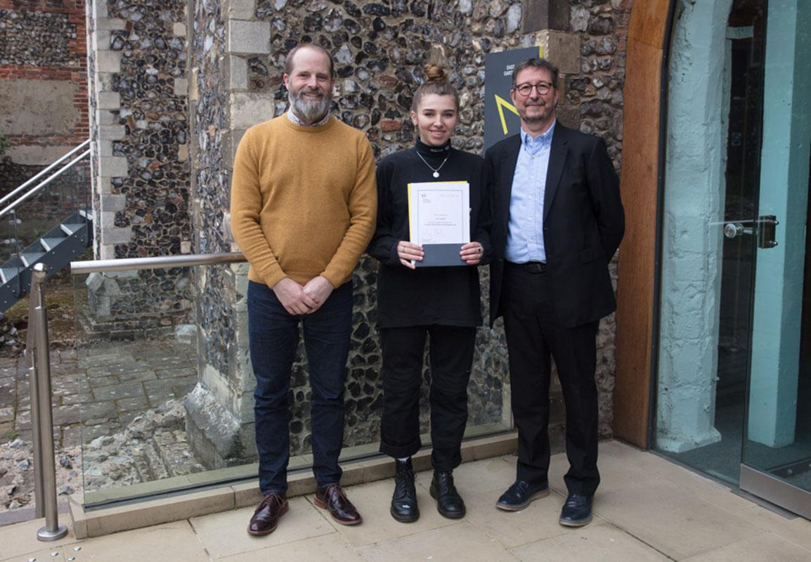 Lara Chandler wins the Photobox Scholarship for Photography 2019