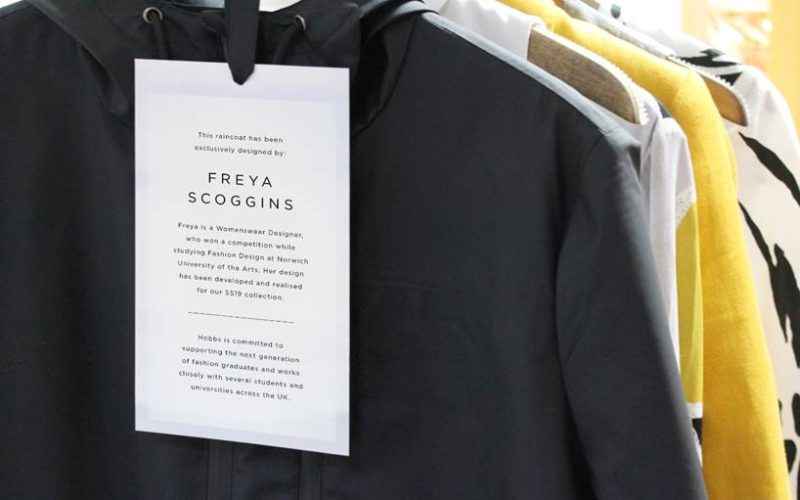 Freya's winning coat design is on sale in Hobbs