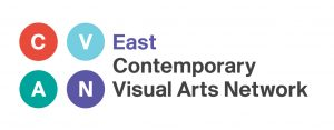 East Contemporary Visual Arts network logo