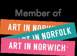 Art in Norwich logo