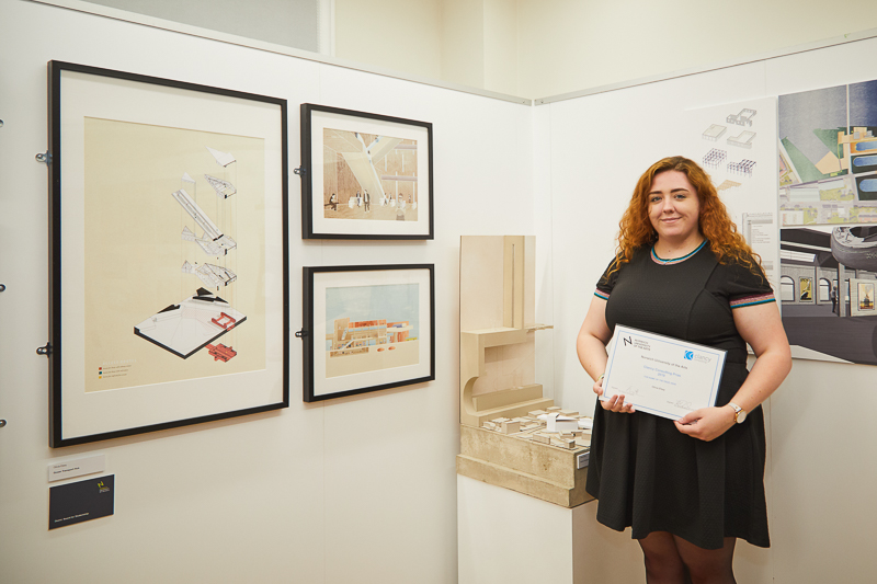 Olivia Elsey wins the Clancy Consulting Award for Structural Excellence