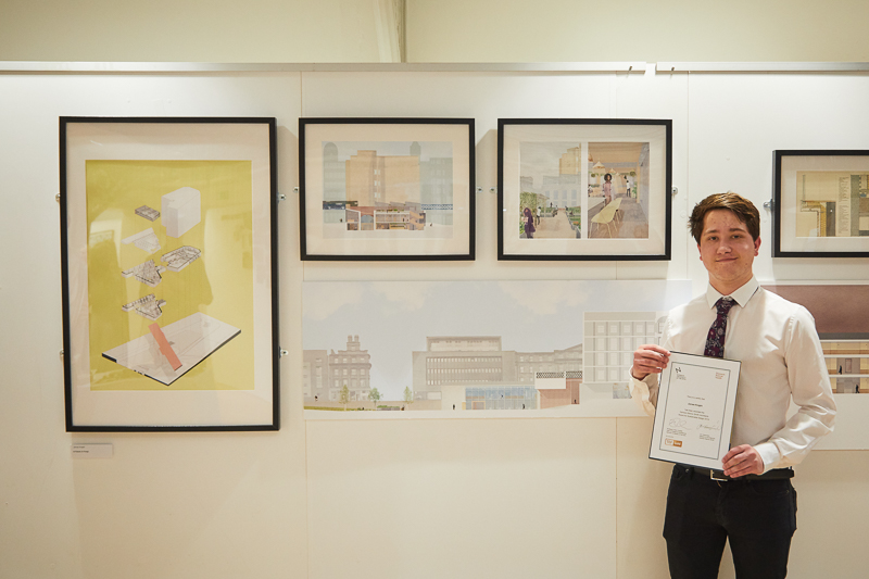 James Knight wins the Hampson Barron Smith Architects Award for Sustainable Design