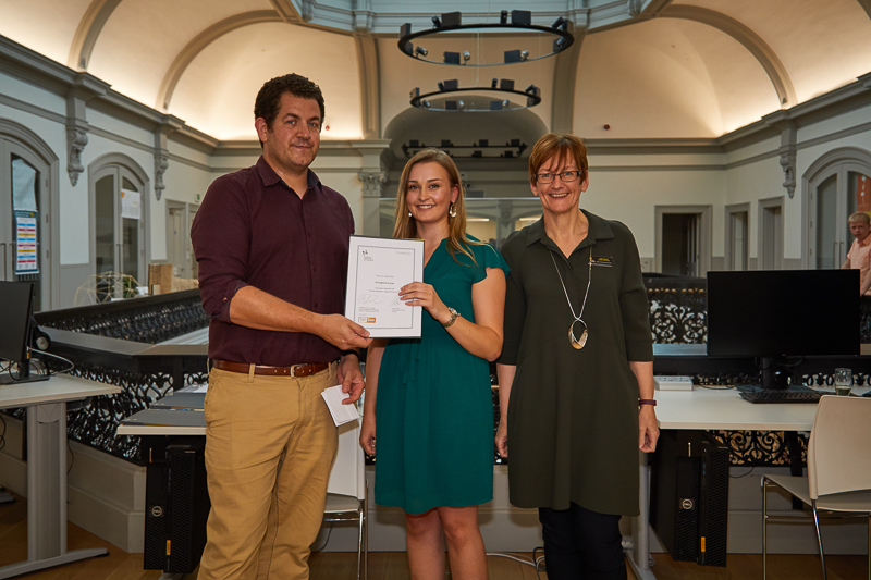 Evangeline House wins the Purcell Research Report Prize