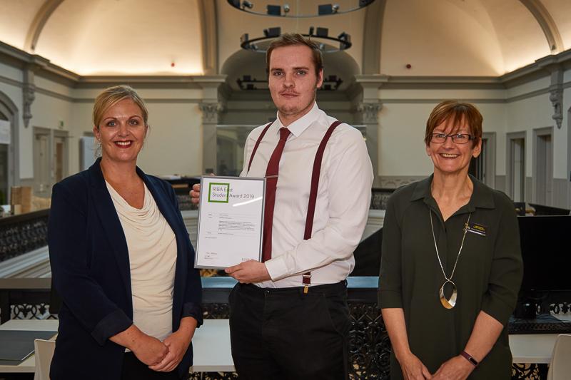 Stephen Johnson wins the RIBA East Student Award for Outstanding Design