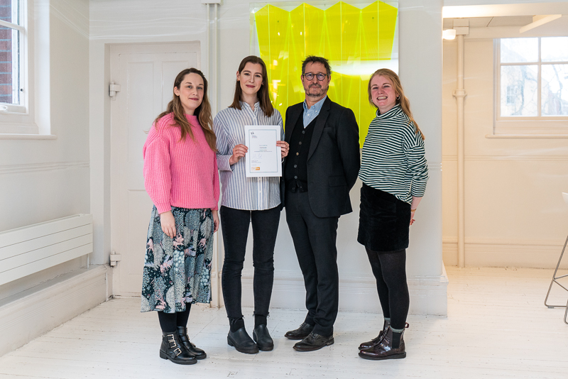 Emily McLeister wins the Richardson Brown Travel Prize 2019