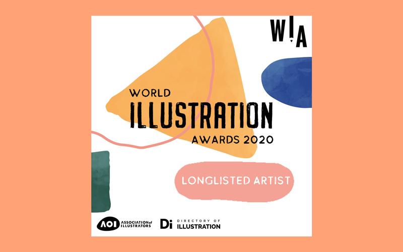 AOI World Illustration Awards 2020 logo