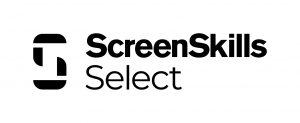 Black logo that reads ScreenSkills Select