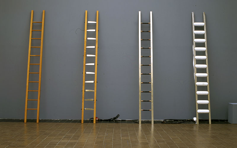 Double Edge by Marina Abramovic, restored by Frances Berry