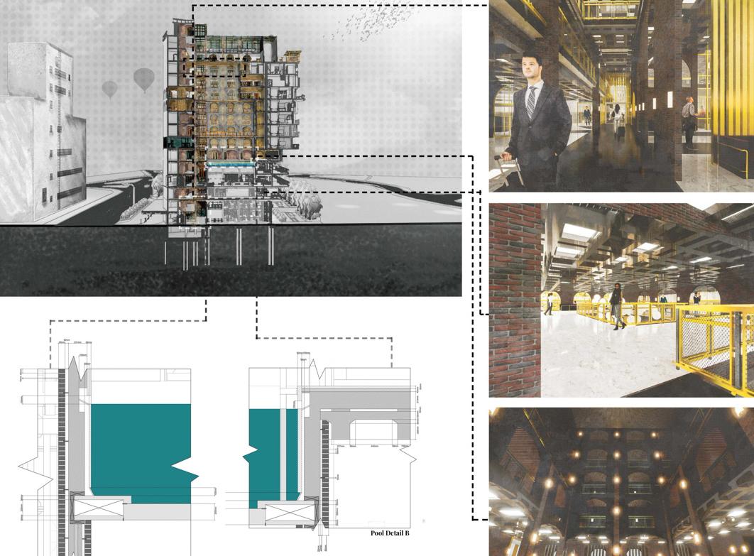 Architectural visualisation by Conrad Areta