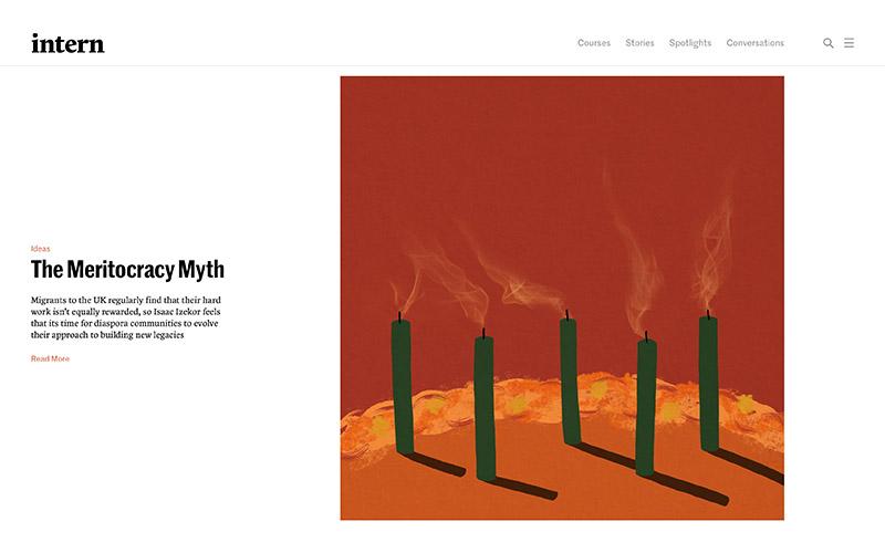Intern Website