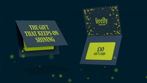 Tom Horbury & Chloe Kilgariff - Branding and gift card design for Firefly bookstore concept