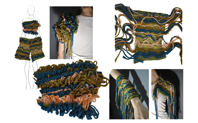 Emily Shires, BA Textile Design