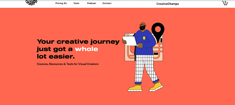 Creative Champs Website