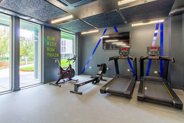 Gym - Gym at Benedicts Gate accommodation in Norwich