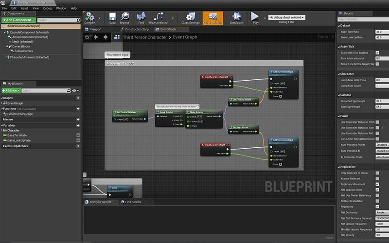BSc Games Development in progress