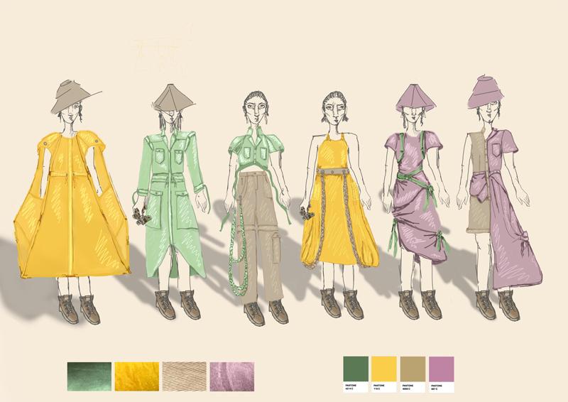 Rebecca Brown, BA Fashion