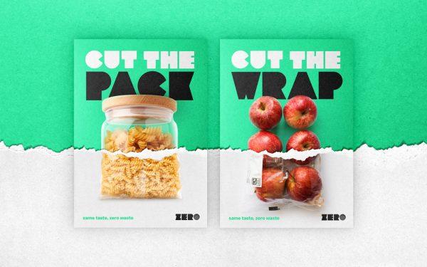 Ben Chamberlain - Zero plastic packaging design for pasta and apples