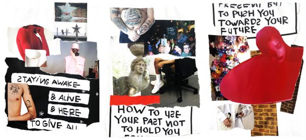 Alice Laycock - Cultural moodboard of sculpture, tattoos, fashion and protest photography