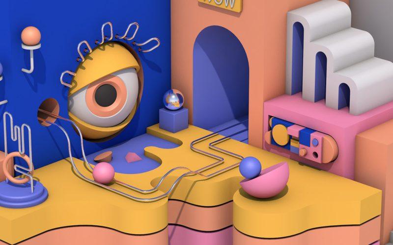 Abstract digital artwork