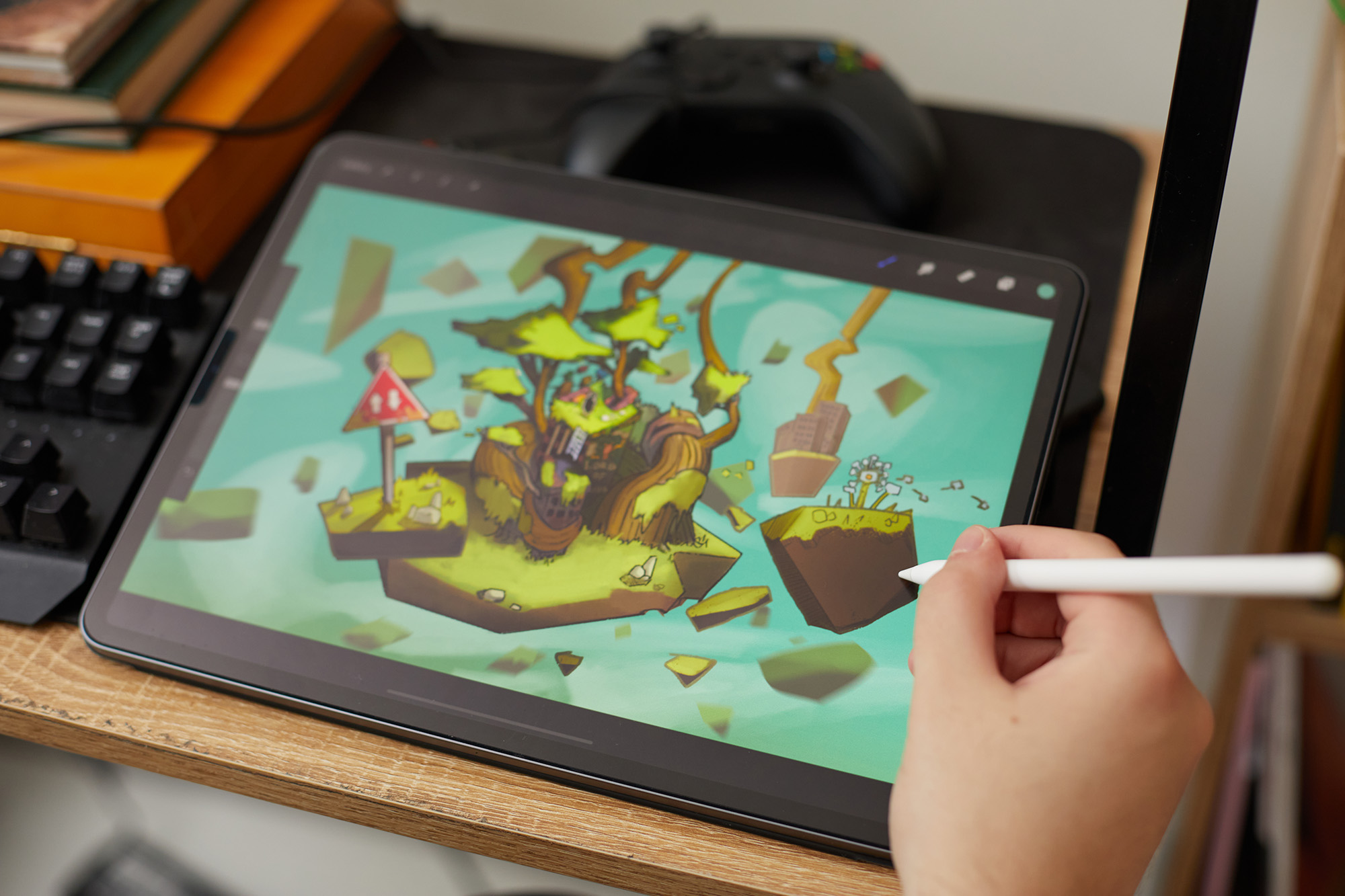 iPad work
