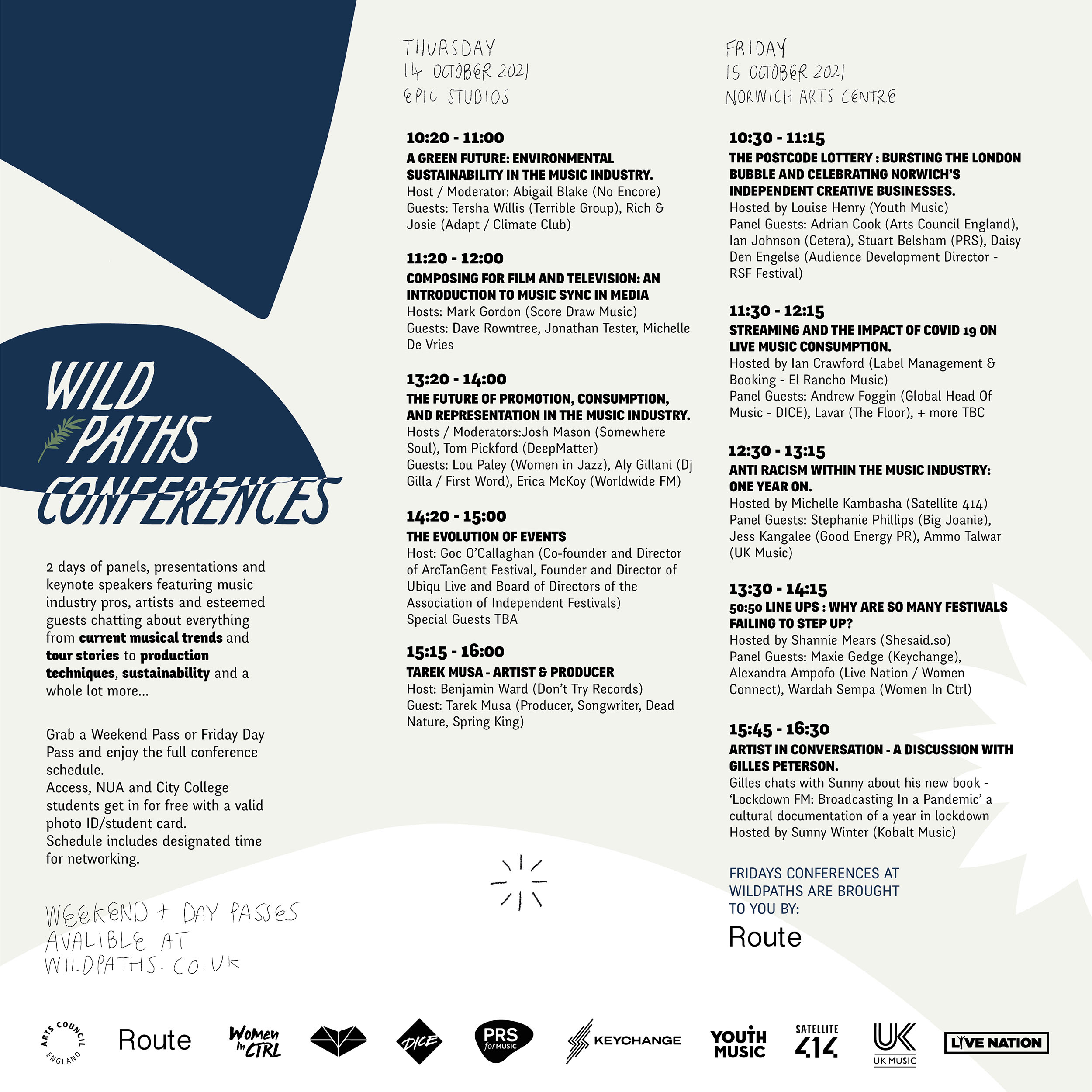 Wild Paths Conference 2021